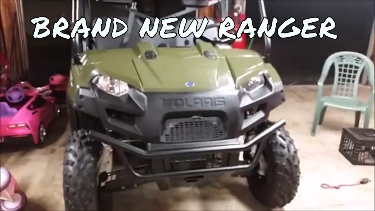 superatv winch and mount unboxing and polaris ranger bumper removal [ 1280 x 720 Pixel ]