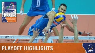2015 Men's EuroVolley - Highlights Playoff round Italy vs Finland