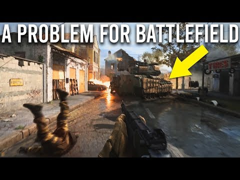 Modern Warfare is a problem for Battlefield