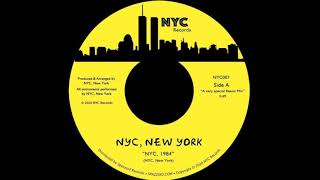 "NYC RECORDS presents ""NYC, 1984""!!!!"