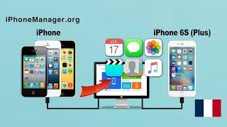 Comment transférer des données à partir l'iPhone vers l'iPhone 6S / iPhone 6S plus