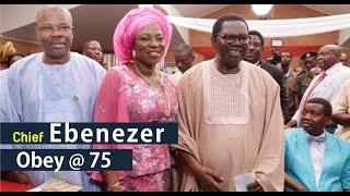 AYEFELE, OBESERE & AYUBA @ EBENEZER OBEY'S 75TH BIRTHDAY