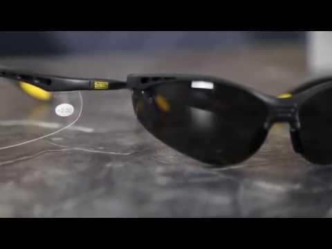 4130490297e1 DEWALT DPG58 Reinforcer Safety Glasses - YouTube
