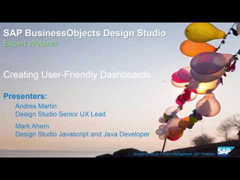 SAP BusinessObjects Design Studio: Creating User Friendly Da