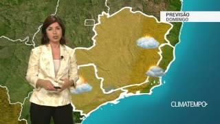 Previsão Sudeste – Muita umidade no ES e RJ