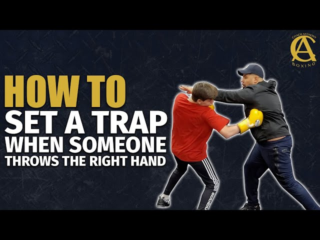 How to Set a Trap When Someone Throws the Right Hand!