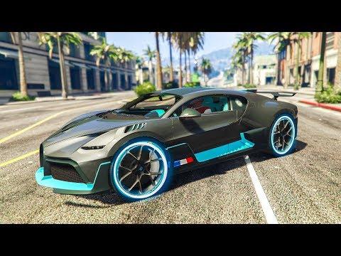 NEW $5,000,000 REAL LIFE CAR STUNT! - (GTA 5 Bugatti Divo Mod)