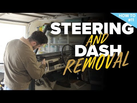 Dash And Steering Wheel Removal