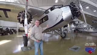 Ford Trimotor Walkaround Tour Mid America Flight Museum