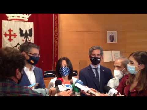 Delegada del Gobierno Comunidad de Madrid visita Alcobendas