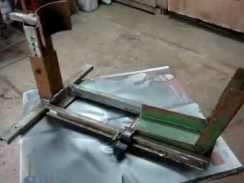 Cavalete Roda Dianteira com Antifurto  YouTube