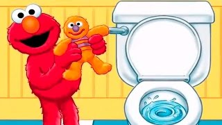 Potty Time with Elmo - Toilet Training - Learning Games for kids