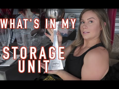 What's In My Storage Unit?!   Olympian Shawn Johnson