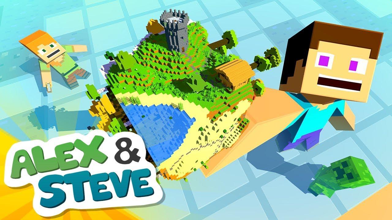 🌎 CONTROL THE WORLD | The Minecraft Life of Alex & Steve | Minecraft Animation