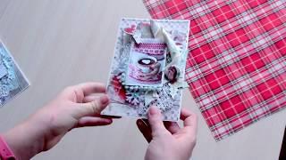 Новогодние работы. Кулинарная книга, открытки, фотобокс и т.д. Скрапбукинг.