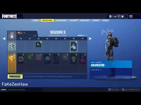 ALL FORTNITE SEASON 5 EMOTE ( Breakdown, Swipe It ...)