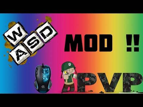 EKRANDAKİ MODLAR W-A-S-D MODU !! (Keystrokesmod) (Minecraft ; Survival Games #83)