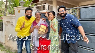 Appachikkoru Chinna birthday Surprise | Diya Krishna
