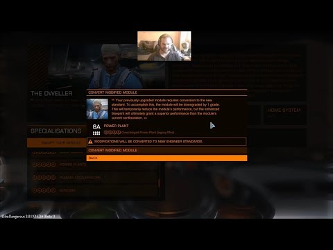 Elite: Dangerous 3.0 Beta - A Closer Look At The Engineers (PC) 1080P60 HD