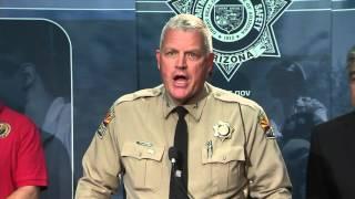 Raw Video: DPS Director announces arrest in #AZFreewayShootings
