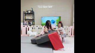 [광고] 알집 디즈니 범퍼침대 활용 놀이방법