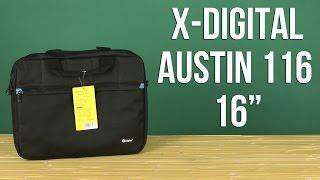 Розпакування X-Digital Austin 116 16'' Black XAS116B