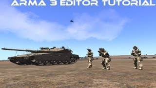 arma 3- editor tutorial ep3- bargate, create unit (dogs), surrender, unitpos, instant kill, radio