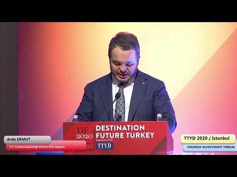 TIF 2020 Istanbul, Arda ERMUT - T.C. Cumhurbaşkanlığı Yatırım Ofisi Başkanı