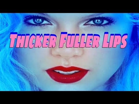 Thicker Fuller Lips Booster Frequency
