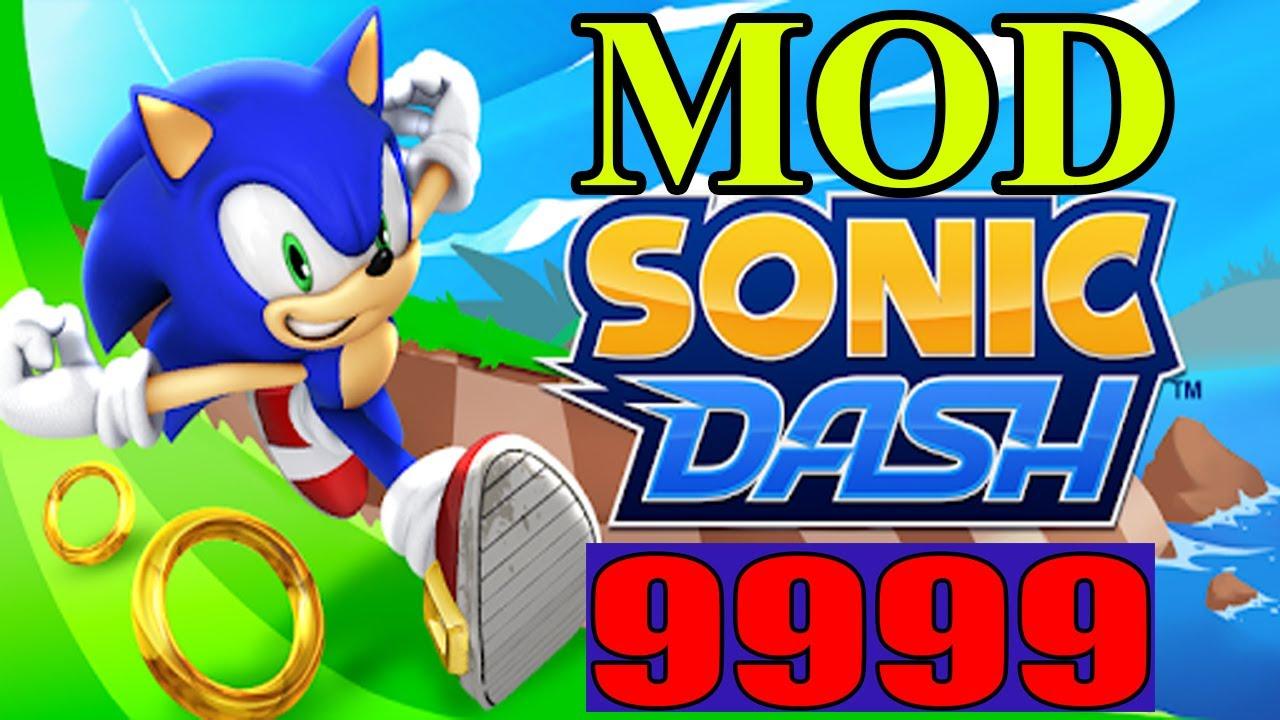 Nhím Sonic Chạy Nhanh Nhất Thế Giới – SONIC DASH MOD HACK 9999 – Top Game Android, Ios