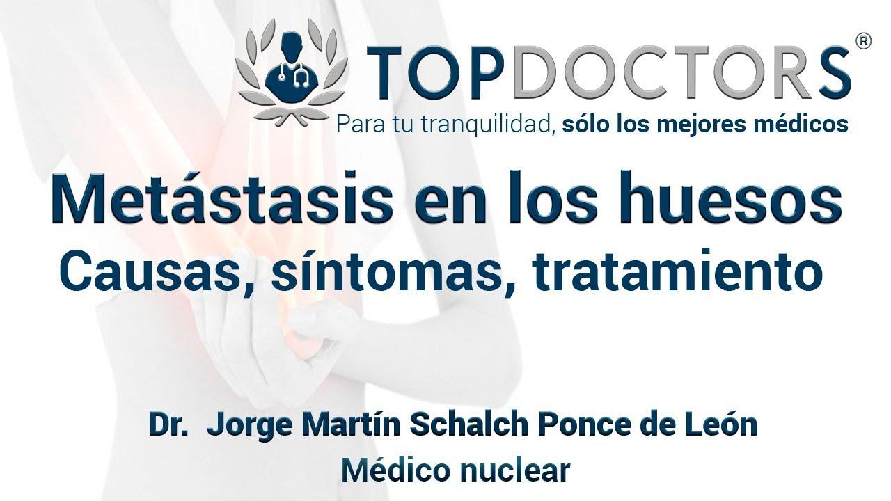 metástasis de cáncer de próstata hueso más frecuentes