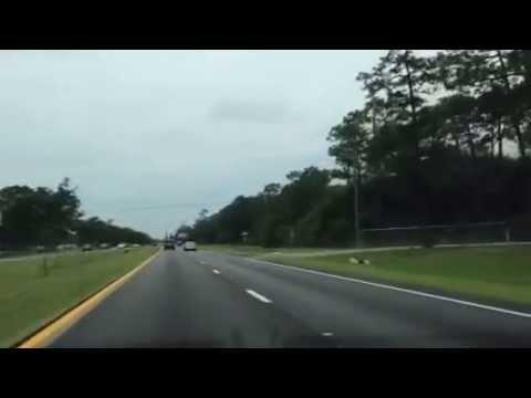 Eglin AFB West-Gate to Fort Walton Beach Florida