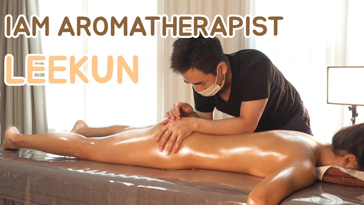 센서티브 스웨디시 & 아로마마사지  Sensitive n relaxing aroma oil massage korean no.1 aromatherapist kun-lee