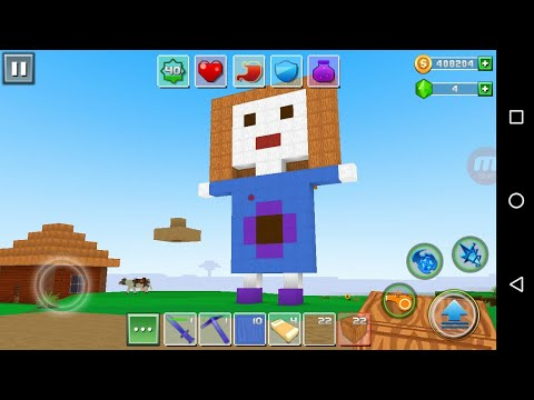 Exploration Lite Craft 'CanadaDroid' Android Gameplay #15 | Learn How To Make A Boy And Baby Doll |