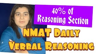 NMAT 2019: Verbal Reasoning - Must Do Questions (Statement-Assumptions/Course of Action