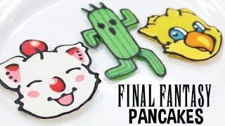 FINAL FANTASY PANCAKES - NERDY NUMMIES thumbnail