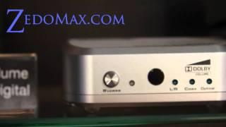 GefenTV Auto Volume Stabilizer with Digital Audio Decoder Review at CES 2011!