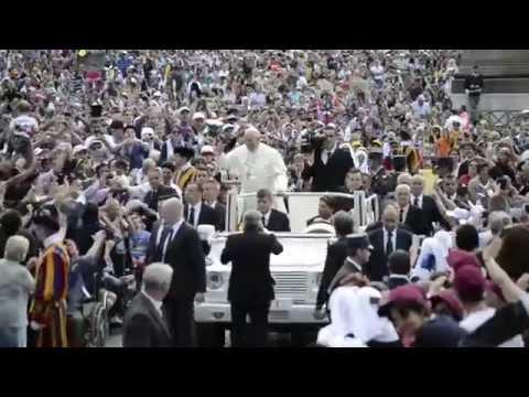 Un periodista de ACI Prensa grabó el ambiente de la Audiencia General del Papa Francisco