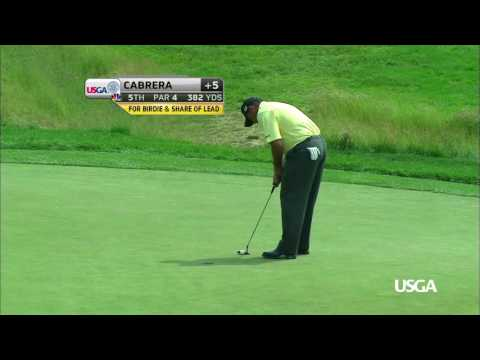 Great U.S. Open Moments at Oakmont: Cabrera Birdies 5th Hole