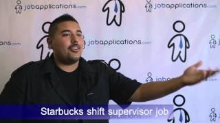 Starbucks Interview - Shift Supervisor