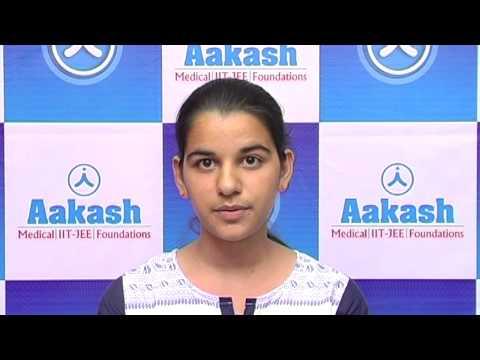 Aakash Karnataka CET 2015 Top Ranker (Priya Narwal AIR-1)