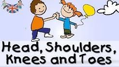 Head Shoulders Knees Toes - englische Kindergarten Lieder || Kinderlieder
