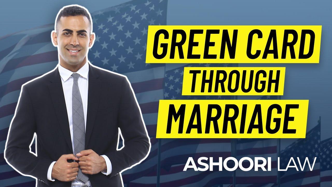 green card through marriage  youtube