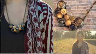 Quick & Easy DIY Fall Necklace! + How I Wear It! Thumbnail