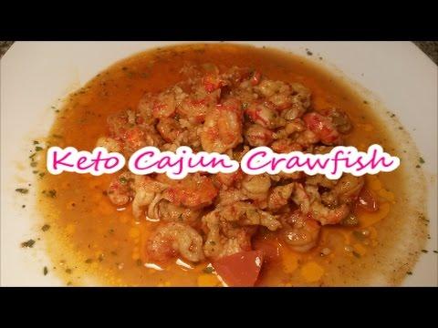 Keto Cajun Sauteed Crawfish