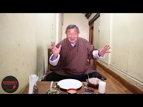 More Bhutanese Food with Dasho Benji