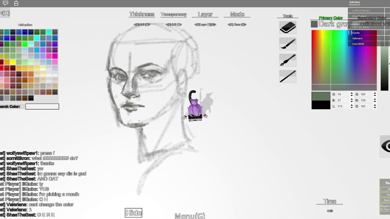 How To Make A Drawing Game On Roblox Quick Face Sketch Free Draw Roblox Youtube
