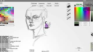 quick face sketch (free draw roblox)