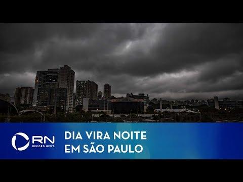 Dia virou noite: por que o céu escureceu em São Paulo?