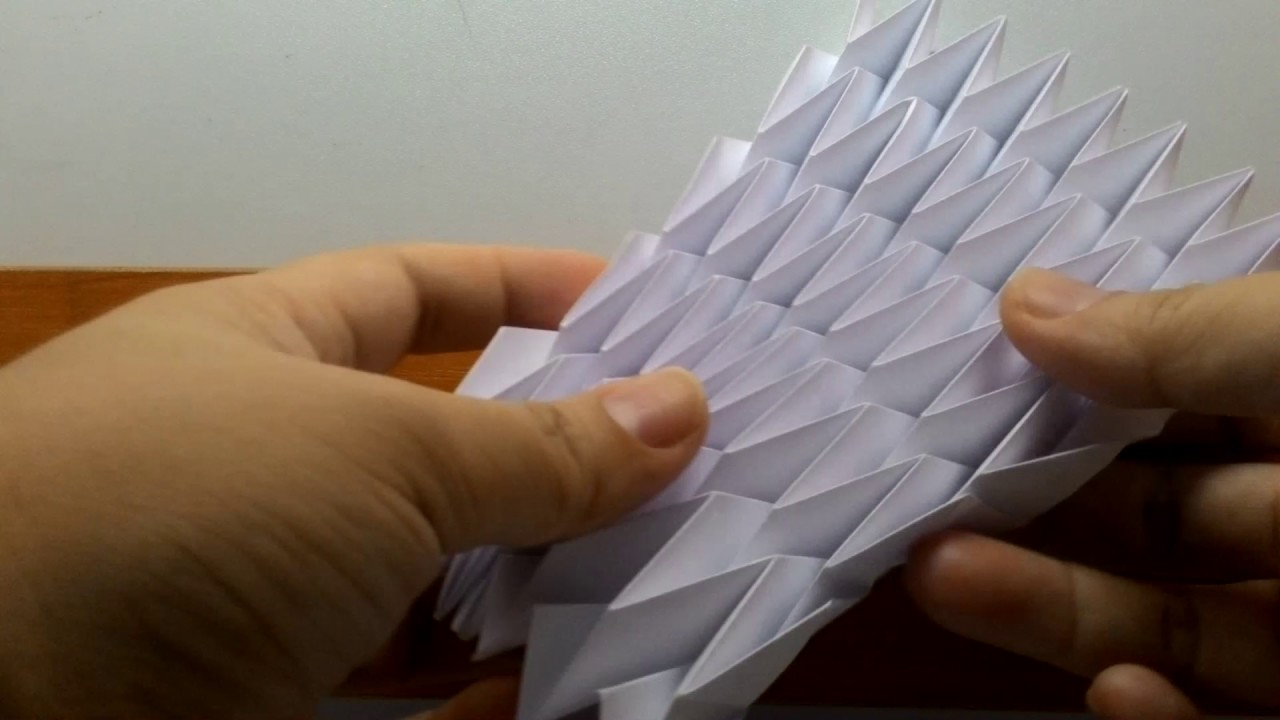 Paper Folding Structure 1